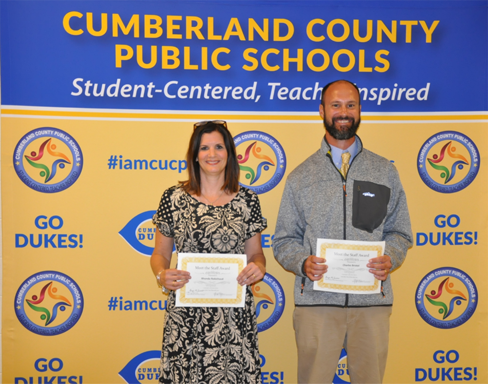 Staff Presented to Cumberland School Board at September Meeting