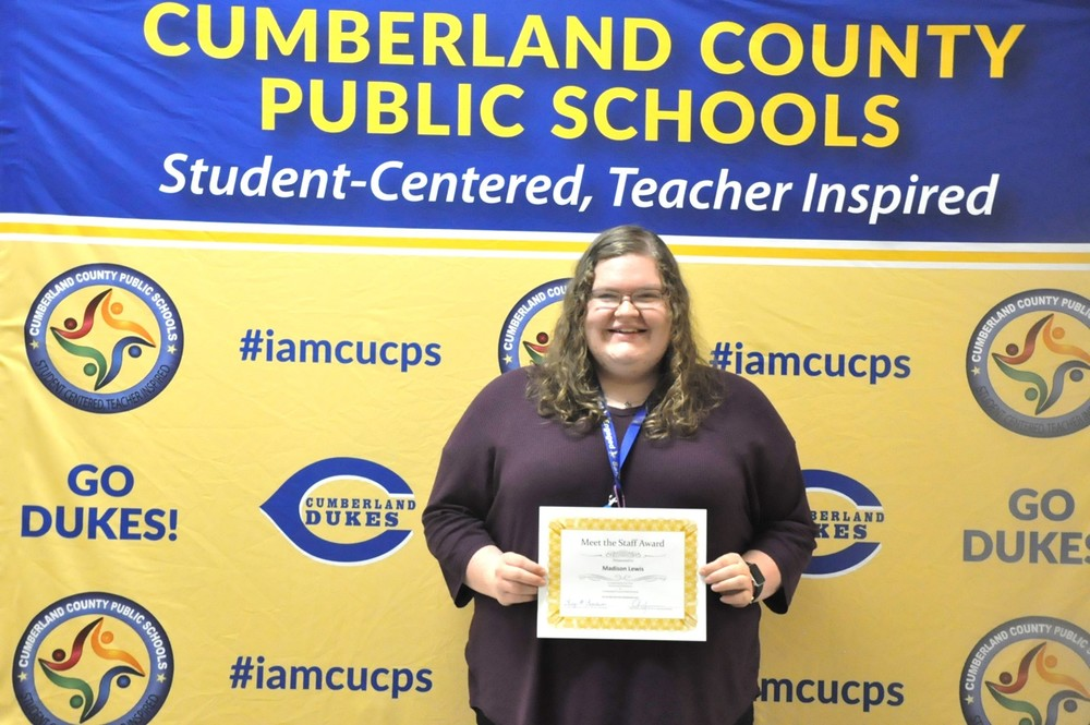 Cumberland School Board Meets the Staff at January Meeting