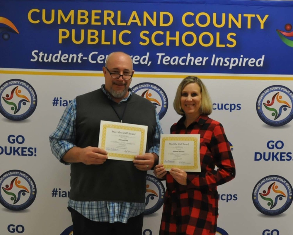 Staff Presented to Cumberland School Board at November Meeting
