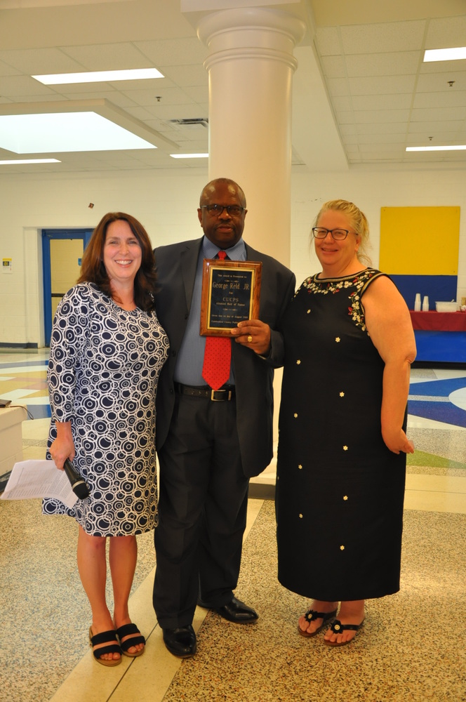 Reid Inducted into CuCPS Alumni Hall of Fame