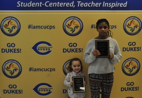 Cumberland School Board Recognizes Students of the Month