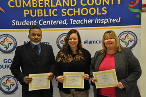 Staff Presented to Cumberland School Board