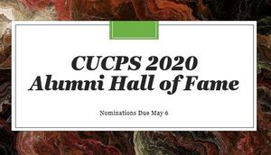 CUCPS Alumni Hall of Fame Nomination Process Open