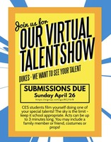 CCES Dukes! We Want to See Your Talent!