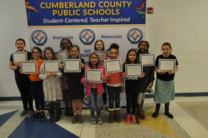Cumberland Girls Who Code Make Presentation to School Board