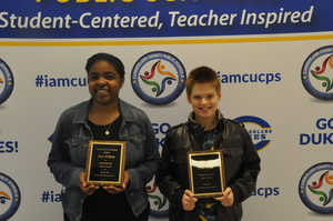 Cumberland Students of the Month Recognized at March School Board Meeting Meeting