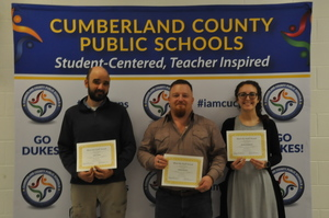 Cumberland School Board Meets the Staff