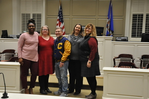 Cumberland School Board Members Take Oath of Office