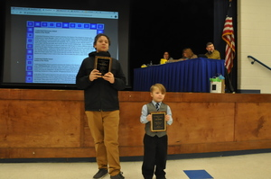 Cumberland School Board Recognizes Students of the Month at February Meeting