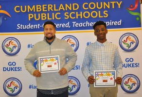 Cumberland Students Recognized for Participation in Call Me MISTER Program