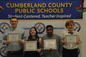 Cumberland School Board Recognizes Congressional App Challenge Winners