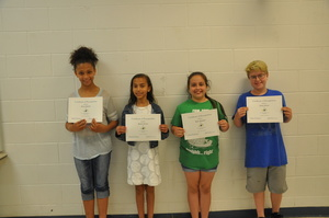 CUCPS 4-H Participants Recognized at School Board Meeting