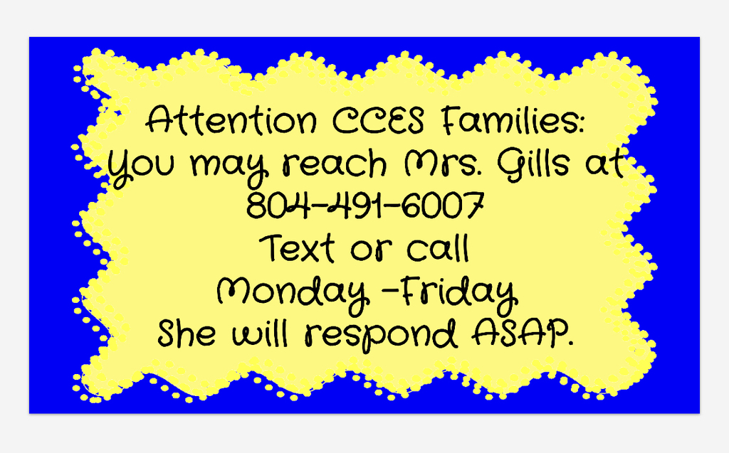 Mrs. Gills contact information